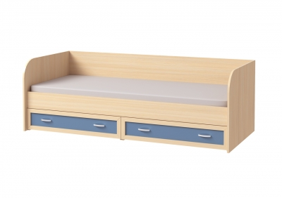 Кровать с ящиками № 1 (сп место 800*1900)