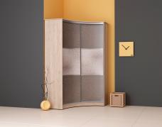 Радиусный шкаф-купе (декоративная плёнка ПВХ)